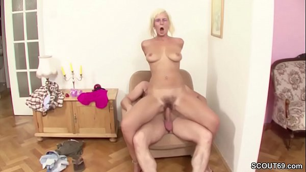 Mom and son, German, Fuck mom, Step son, Hairy mom, Virgin fuck