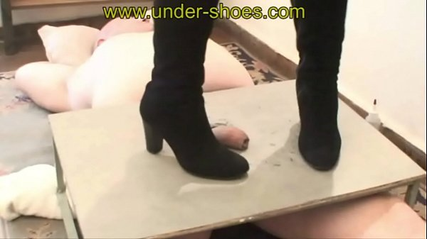 Shoe, Boots, Shoes, Punished, Miss