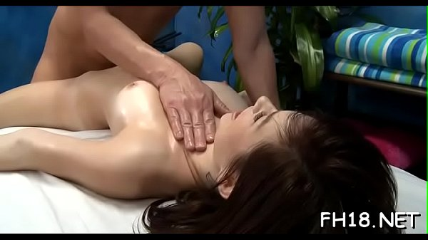 Sexy massage, From behind
