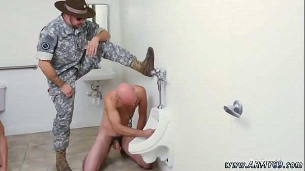 Military, Army, Hairy anal