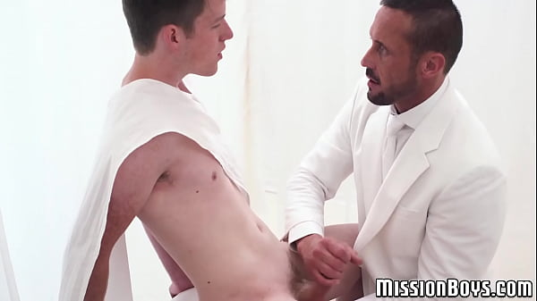 Handsome, Young creampie