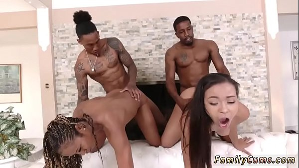 Family, Black girl, Domination, Blind