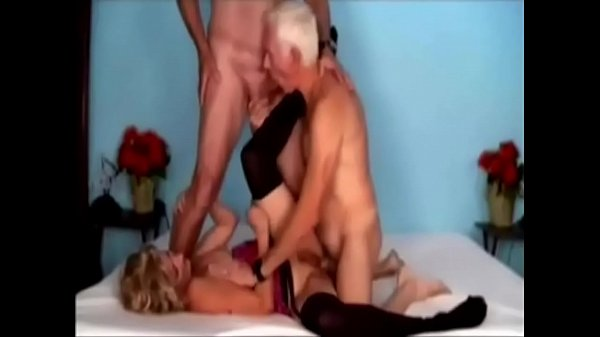 Bisexual, Old threesome, Old men