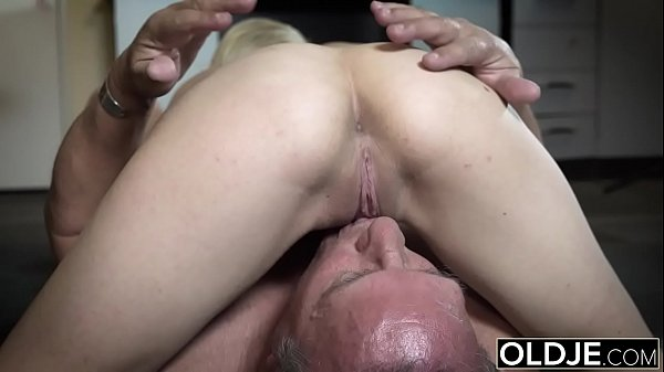 Grandpa, Old and young, Young old, Blowjobs, Old sex