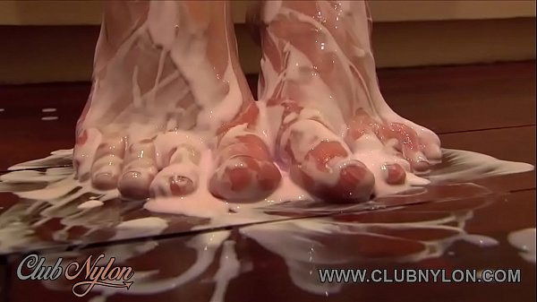 Feet, Nylon, Nylon feet, Toes, Toe sucking, Brunettes