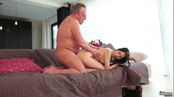 Young, Cum swallow, Cum in pussy, Young old, Young and old, Swallowing