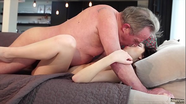 Young, Cum swallow, Cum in pussy, Young and old, Swallowing, Young old